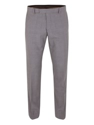 Alexandre Of England Hackney Check Tailored Fit Trouser Grey