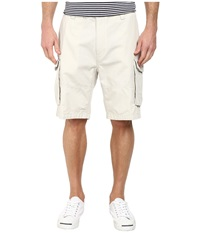 Ripstop Cargo Shorts Nautica Stone Men's Shorts White