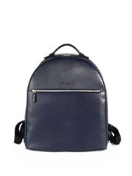 Salvatore Ferragamo Revival Textured Calfskin Backpack Ultramarine