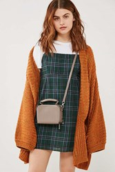 Urban Outfitters Violet Box Crossbody Bag Taupe