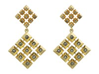 House Of Harlow The Lyra Statement Earrings Gold Earring