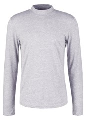 Your Turn Long Sleeved Top Mottled Grey