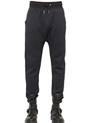 Blood Brother Quilted Cotton Jersey Jogging Trousers
