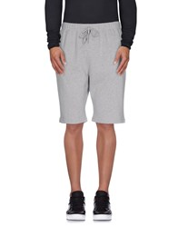 Sunspel Trousers Bermuda Shorts Men Grey