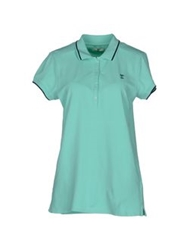 Meltin Pot Polo Shirts Turquoise