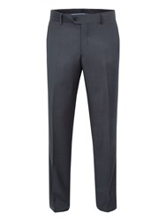 Baumler Tailored Grey Twill Suit Trousers Grey