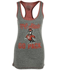 Royce Apparel Inc Women's North Carolina State Wolfpack Noelle Tank Top Gray Red