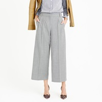 J.Crew Cropped Pant In Wool Flannel