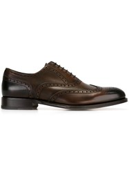 Dsquared2 Brogue Detail Oxford Shoes Brown