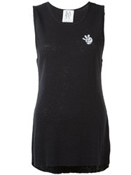 Zoe Karssen Long Fit Tank Top Black