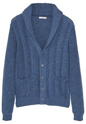 Mango Texasc Cardigan Dark Navy Dark Blue