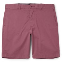 J.Crew Stanton Stretch Cotton Twill Chino Shorts Red