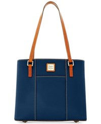 Dooney And Bourke Pebble Small Lexington Tote Midnight Blue