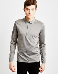 Selected Shane Polo Grey