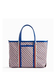 Pierre Hardy Polycube Tote Blue