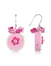 Dolci Gioie Cake Earrings Pink