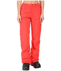 Burton Aero Pants Coral Women's Casual Pants