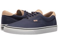 Vans Era 59 Veggie Tan Crown Blue True White Skate Shoes Navy