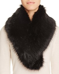 Cara Accessories Faux Fur Collar Black