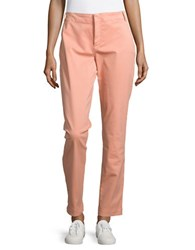 Nydj Relaxed Fit Cotton Blend Chinos Pink