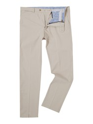 Baumler Fawn Cotton Trousers Taupe