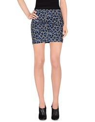 Guess Skirts Mini Skirts Women Grey