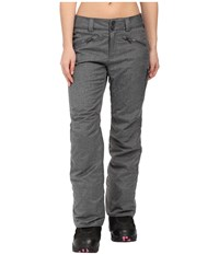 Obermeyer Essex Pants Charcoal Women's Casual Pants Gray