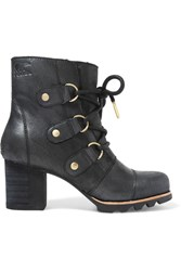 Sorel Addington Waterproof Nubuck Boots Black