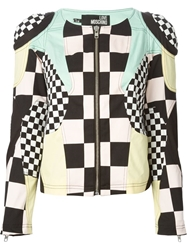 Love Moschino Patchwork Jacket Black