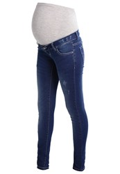 Mamalicious Mlalexa Slim Fit Jeans Medium Blue Denim
