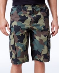 Lrg Men's Cotton Cargo Shorts Odltblue