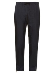 Tomas Maier Reversible Nylon Track Pants Black