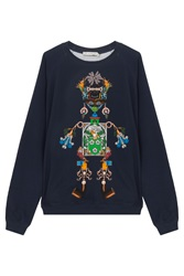 Mary Katrantzou Printed Sweater