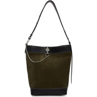 J.W.Anderson Jw Anderson Green Suede Key Tote