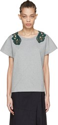 Harikae Grey Lace T Shirt