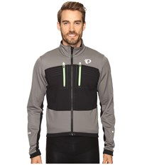 Pearl Izumi Elite Escape Softshell Jacket Smoked Black Men's Coat Gray