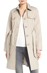Kate Spade Women's New York Trench Gains Grey