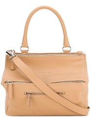 Givenchy Pandora Tote Nude And Neutrals