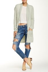 For Love And Lemons Spring Fling Long Sleeve Cardigan Green