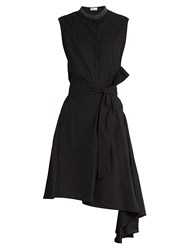 Brunello Cucinelli Asymmetric Dress Black