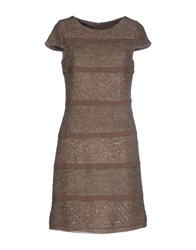 Caramelo Dresses Short Dresses Women Dove Grey