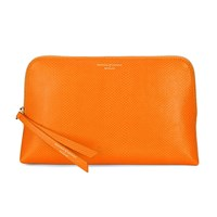 Aspinal Of London Essential Cosmetic Case Medium Orange