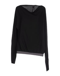 Manila Grace Shirts Blouses Women Black