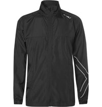 2Xu X Vent Vaporise Mesh Panelled Shell Jacket Black