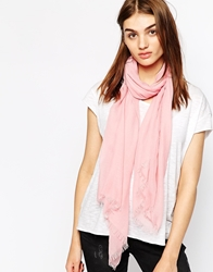 Whistles Lightweight Scarf Cameopink