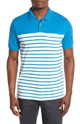 Men's Ben Sherman Slub Breton Stripe Polo