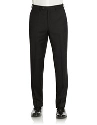 Lauren Ralph Lauren Classic Fit Ultraflex Wool Pants Black