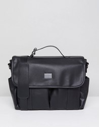 Peter Werth Verdon Vintage Messenger Black