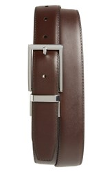 Nordstrom Big And Tall Men's Shop Newman Reversible Leather Belt Black Brown