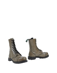 Sgn Giancarlo Paoli Ankle Boots Lead
